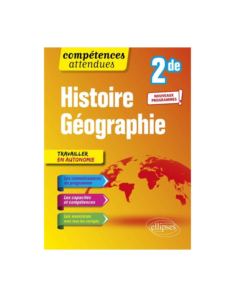 Histoire-géographie - Seconde - Nouveaux programmes