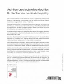 Architectures logicielles réparties - Du client-serveur au cloud computing