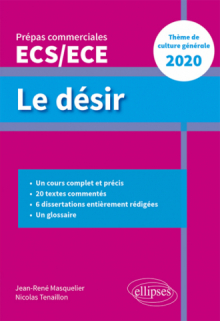 Le désir - Thème de culture générale - Prépas commerciales ECS / ECE  2020