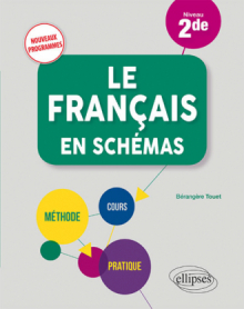 Le français en schémas. Niveau Seconde - nouveaux programmes