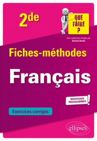 Français - Seconde nouveaux programmes