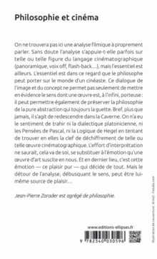 Philosophie et cinéma