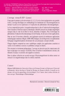 Electromagnétisme - Magnétostatique et induction - Cours, applications et exercices corrigés - Niveau B