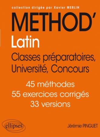 Méthod'Latin • Classes préparatoires, Université, Concours
