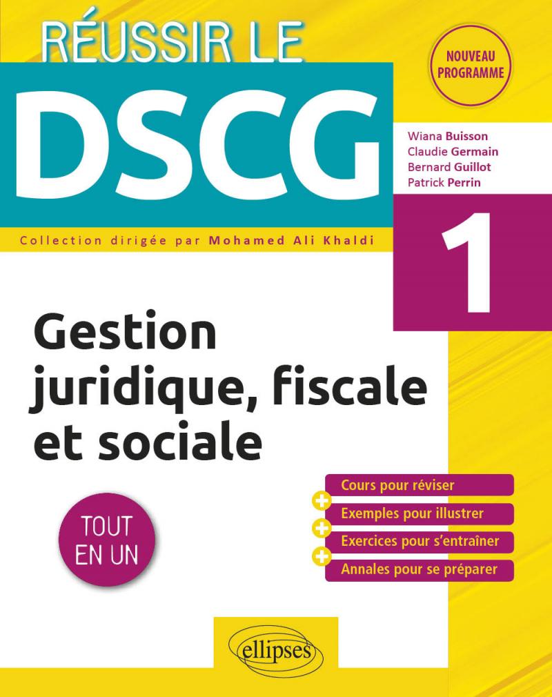 UE1 - Gestion juridique, fiscale et sociale