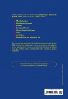 Actu 2020 - Comprendre le monde du XXIe siècle - 50 questions : Culture générale, relations internationales, géopolitique