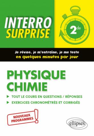 Physique chimie - Seconde - Nouveaux programmes