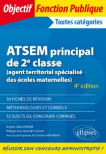 ATSEM principal de 2e classe (agent territorial spécialisé des écoles maternelles) - 4e édition