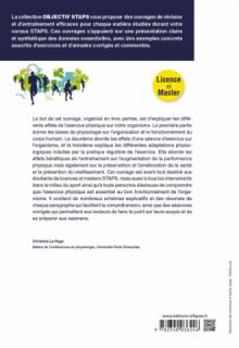 Physiologie de l'exercice physique, entraînement et santé - 2e édition