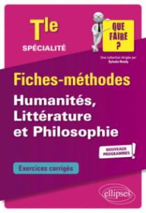 Spécialité Humanités, Littérature et Philosophie - Terminale - nouveaux programmes