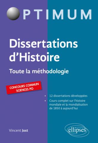 Dissertations d'Histoire - Toute la méthodologie