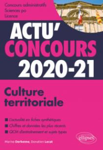 Culture territoriale 2020-2021 - Cours et QCM