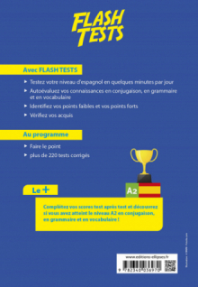 Espagnol Flash Tests A2 - Testez votre niveau d'espagnol !
