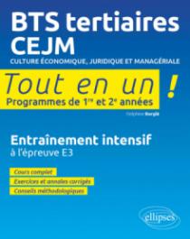 BTS tertiaires - CEJM - Culture économique, juridique et managériale