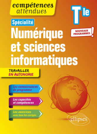 Spécialité NSI - Numérique et sciences informatiques - Terminale - nouveaux programmes