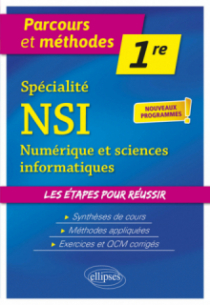Spécialité NSI (numérique et sciences informatiques) - Première - nouveaux programmes
