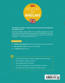 Réussir en anglais. Toutes les clés pour découvrir, réviser ou reprendre les principales règles de base de la grammaire. A1-A2. (Avec exercices et tests corrigés)