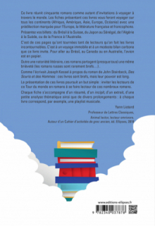 Tour du monde en romans. 50 romans français et internationaux incontournables