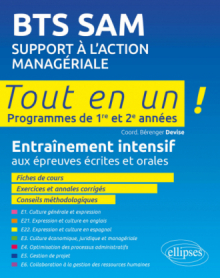 BTS SAM - Support à l'action managériale