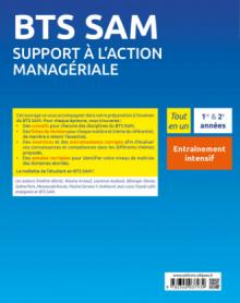 BTS SAM - Support à l'action managériale