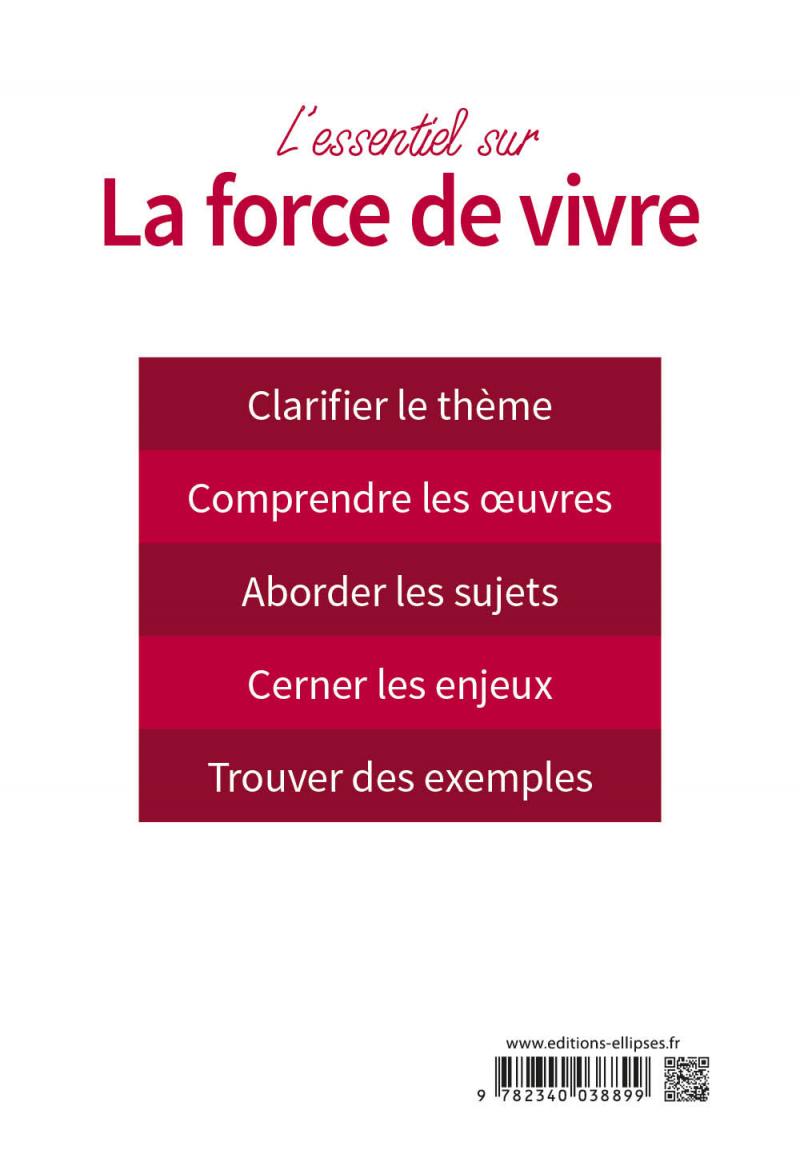 L'essentiel sur la force de vivre. Épreuve de français ...