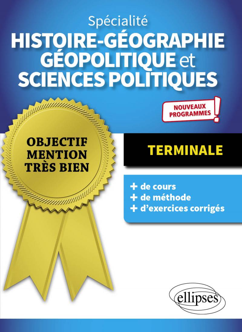 Spécialité Histoire-géographie, géopolitique et sciences politiques - Terminale - Nouveaux programmes