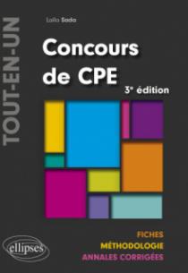 Concours CPE Tout-en-un - Fiches, Méthodologie, Annales corrigées - 3e édition