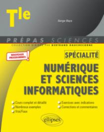 Spécialité Numérique et sciences informatiques - Terminale - nouveaux programmes