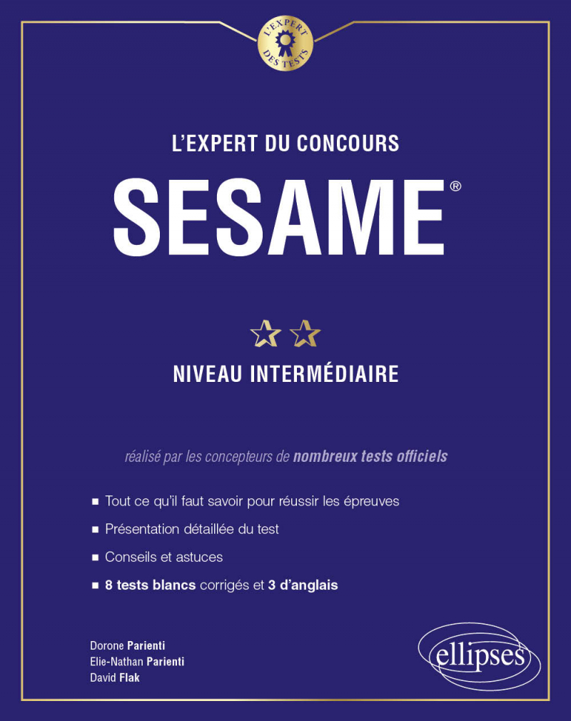 L'Expert du concours SESAME - Niveau intermédiaire
