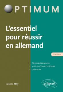 L'essentiel pour réussir en allemand - 3e édition