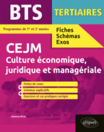 BTS tertiaires - CEJM - Culture économique, juridique et managériale