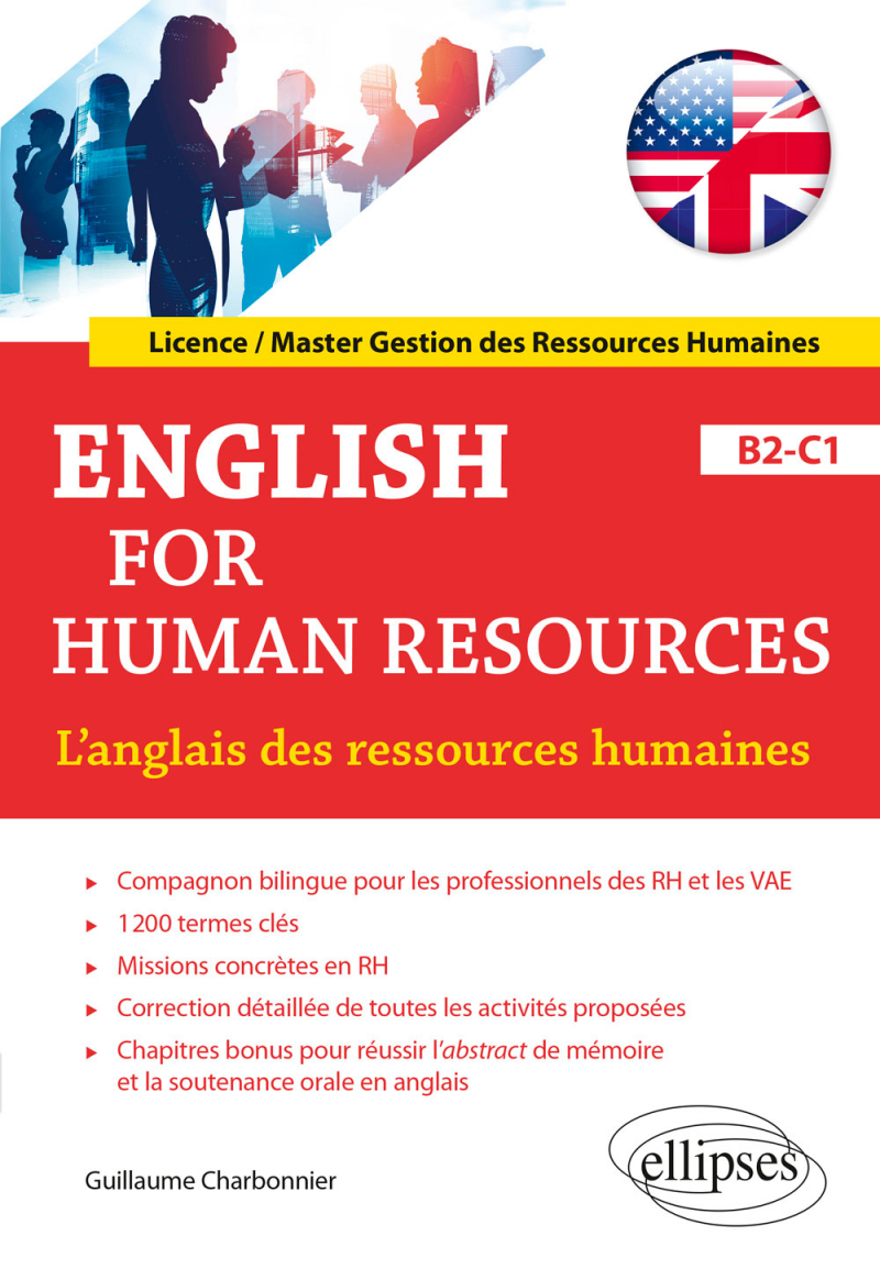 English for Human Resources. L'anglais des ressources humaines. B2-C1