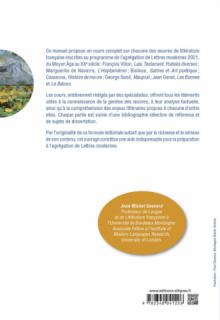 Agrégation de Lettres 2021. Tout le programme du Moyen Âge au XXe siècle en un volume