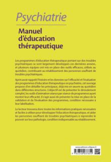 Psychiatrie - Manuel d'éducation thérapeutique