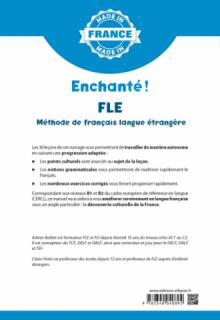 Enchanté ! - FLE – Méthode de français langue étrangère – B1/B2