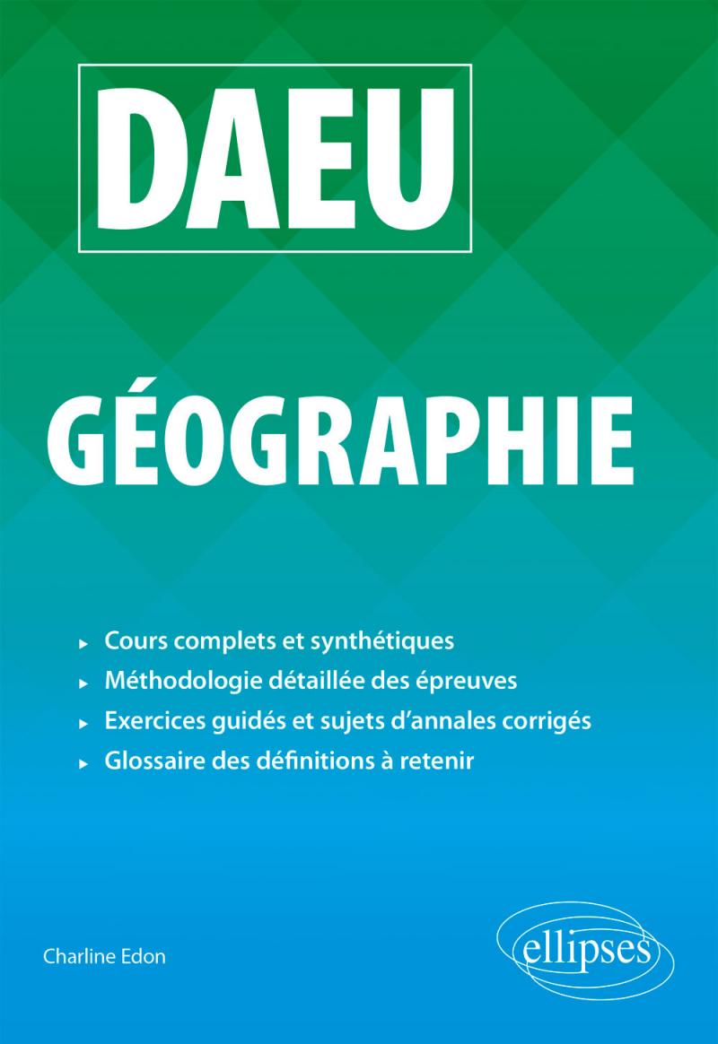 DAEU Géographie