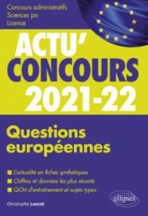 Questions européennes 2021-2022 - Cours et QCM