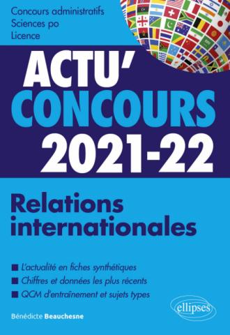 Relations internationales 2021-2022 - Cours et QCM