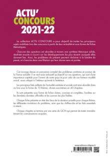 Thèmes sanitaires et sociaux 2021-2022 - Cours et QCM