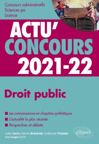 Droit public 2021-2022 - Cours et QCM