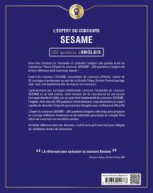 L'Expert du concours SESAME - 250 questions d'anglais