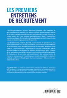 Les premiers entretiens de recrutement : les clés pour se démarquer et réussir. Concours, stages, emplois