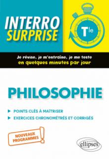 Philosophie, Terminale. Nouveaux programmes.