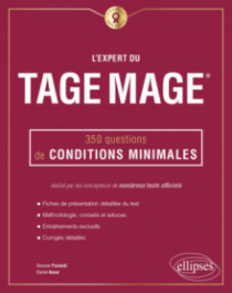 L'Expert du Tage Mage® - 350 questions de conditions minimales