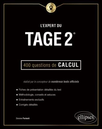 L'Expert du Tage 2® - 400 questions de calcul