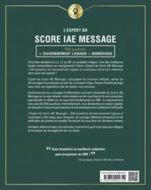 L'Expert du Score IAE Message® - 300 questions de Raisonnement Logique et Numérique