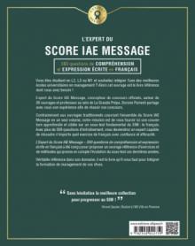 L'Expert du Score IAE Message - 300 questions de Compréhension et Expression Écrite en Français