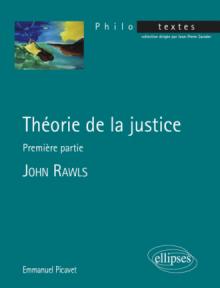 John Rawls, Théorie de la justice, Première partie