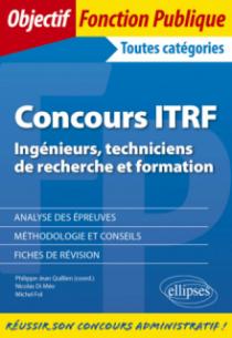 Concours ITRF - Ingénieurs, techniciens de recherche et formation de catégorie A, B et C