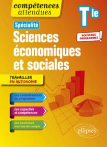 Spécialité Sciences économiques et sociales - Terminale - Nouveaux programmes